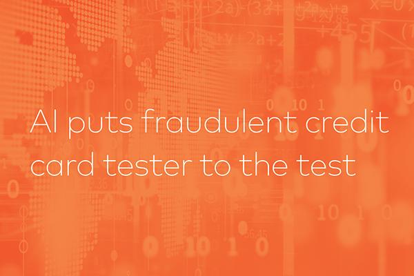 AI Tests Fraudulent Credit Card